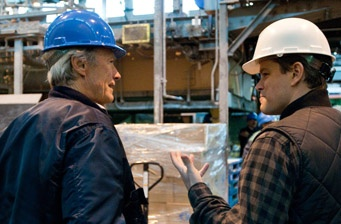 3 questions with Clint Eastwood and Matt Damon